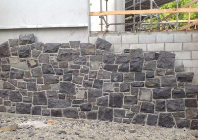 Auckland Blue stone and Irish Basalt