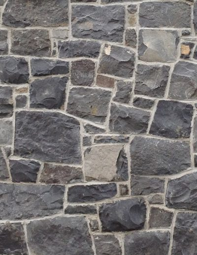 Auckland Bluestone and Irish Basalt